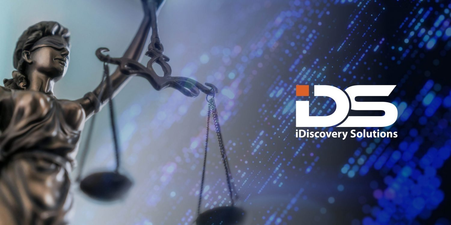 iDiscovery Solutions provides pro bono digital forensic services to bring industry-wide culture change.