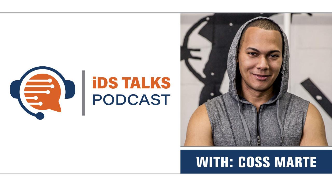 CONBODY, coss marte CONBODY, Hunter McMahon iDS TALKS, Hunter McMahon, Hunter McMahon iDS, iDS TALKS, coss marte, iDS Talks podcast, iDiscovery, eDiscovery Podcast